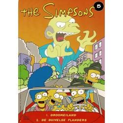The Simpsons - 005 Droomeiland + De duivelse Flanders - eerste druk 1999