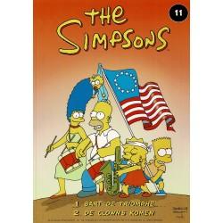 The Simpsons - 011 Bart de Triomphe + De clowns komen - eerste druk 2000