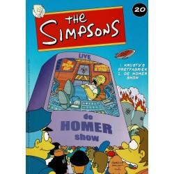 The Simpsons - 020 Krusty's pretfabriek + De Homer show - eerste druk 2002