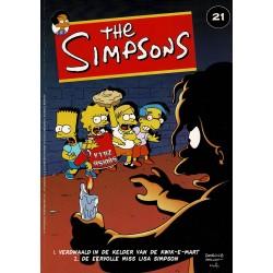 The Simpsons - 021 Verdwaald in de kelder van de Kwik-E-Mart + De eervolle Miss Lisa Simpson - eerste druk 2002