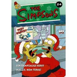 The Simpsons - 024 Een rampzalige kerst + Maggie, kom terug! - eerste druk 2004