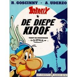 Asterix - 025 De diepe kloof - herdruk 1991
