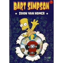 Bart Simpson - 001 Zoon van Homer - eerste druk 2002