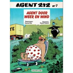 Agent 212 - 007 Agent door weer en wind - herdruk - 1e reeks