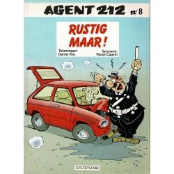 Agent 212 - 008 Rustig maar! - herdruk 1994