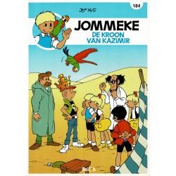 Jommeke - 184 De kroon van Kazimir - herdruk - nieuwe cover