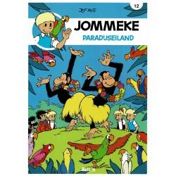 Jommeke - 012 Paradijseiland - herdruk - nieuwe cover