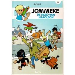 Jommeke - 061 De hoed van Napoleon - herdruk - nieuwe cover