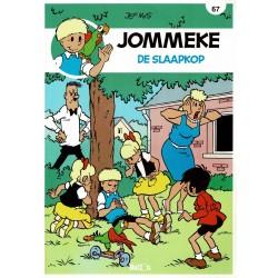 Jommeke - 067 De slaapkop - herdruk - nieuwe cover