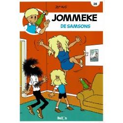 Jommeke - 028 De Samsons - herdruk - nieuwe cover