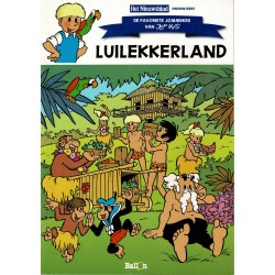 Jommeke - Het Nieuwsblad / De favoriete Jommekes van Jef Nys - C04 Luilekkerland (62) - herdruk 2010