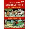 Suske en Wiske dubbelstrip - Het verborgen volk + De zilveren appels (zonder bijlage) - eerste druk 1987