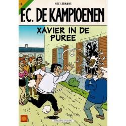 F.C. De Kampioenen - 011 Xavier in de puree - eerste druk 2000 - Standaard Uitgeverij