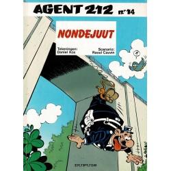Agent 212 - 014 Nondejuut - eerste druk 1992