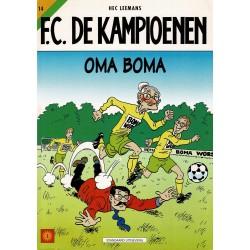 F.C. De Kampioenen - 014 Oma Boma - eerste druk 2000 - Standaard Uitgeverij