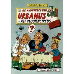 Urbanus - 015 Het vlooiencircus - herdruk - Uitgeverij Loempia, in kleur