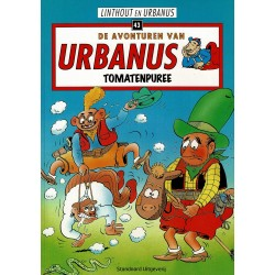 Urbanus - 043 Tomatenpuree - herdruk - Standaard Uitgeverij