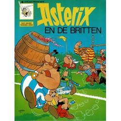 Asterix - 004 De Britten - herdruk - Dargaud nieuwe cover