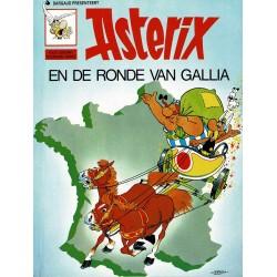 Asterix - 005 De ronde van Gallia - herdruk - Dargaud nieuwe cover