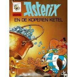 Asterix - 008 De koperen ketel - herdruk - Dargaud nieuwe cover