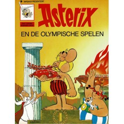 Asterix - 014 De Olympische Spelen - herdruk - Dargaud nieuwe cover