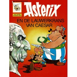 Asterix - 017 De lauwerkrans van Caesar - herdruk - Dargaud nieuwe cover