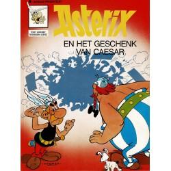 Asterix - 021 Het geschenk van Caesar - herdruk - Dargaud nieuwe cover