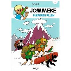 Jommeke - 004 Purpere pillen - herdruk - nieuwe cover