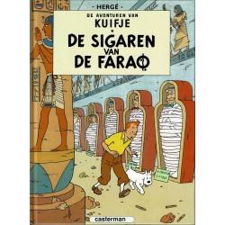 Kuifje - De sigaren van de farao - herdruk - hardcover A5 (klein formaat) - reeks De Morgen 2004