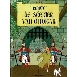 Kuifje - De scepter van Ottokar - herdruk - hardcover A5 (klein formaat) - reeks De Morgen 2004