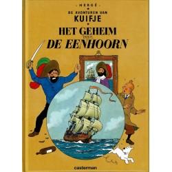 Kuifje - Het geheim van de Eenhoorn - herdruk - hardcover A5 (klein formaat) - reeks De Morgen 2004