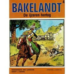 Bakelandt - 004 De ijzeren hertog - herdruk - Uitgeverij Hoste, ongekleurd
