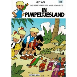 Jommeke - 032 In Pimpeltjesland - herdruk - witte cover
