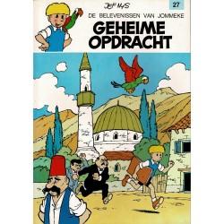 Jommeke - 027 Geheime opdracht - herdruk - oranje cover