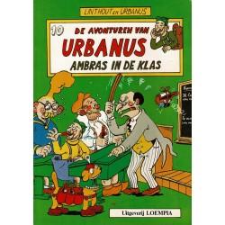 Urbanus - 010 Ambras in de klas - herdruk - Uitgeverij Loempia, in kleur