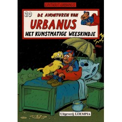 Urbanus - 020 Het kunstmatige weeskindje - herdruk - Uitgeverij Loempia, in kleur