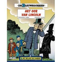 De Blauwbloezen - Het oor van Lincoln - De unieke stripreeks Het Belang van Limburg