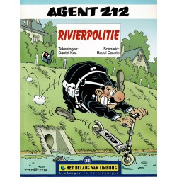 Agent 212 - Rivierpolitie - De unieke stripreeks Het Belang van Limburg