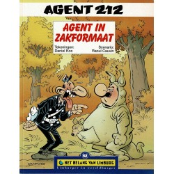 Agent 212 - Agent in zakformaat - De unieke stripreeks Het Belang van Limburg