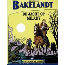 Bakelandt - De jacht op Milady - De unieke stripreeks Het Belang van Limburg