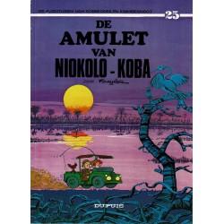 Robbedoes en Kwabbernoot - 025 De amulet van Niokolo-Koba - herdruk