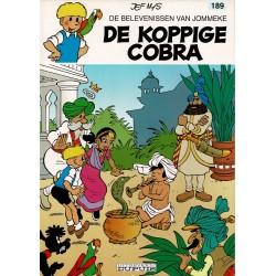 Jommeke - 189 De koppige cobra - herdruk - witte cover
