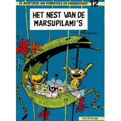 Robbedoes en Kwabbernoot - 012 Het nest van de Marsupilami's - herdruk