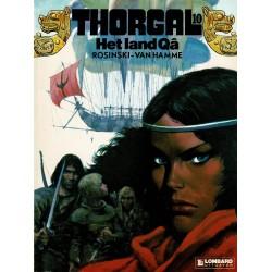 Thorgal - 010 Het land Qâ - eerste druk 1986