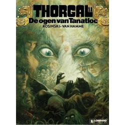 Thorgal - 011 De ogen van Tanatloc - eerste druk 1986