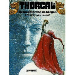 Thorgal - 015 De meester van de bergen - eerste druk 1989