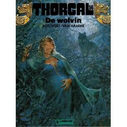 Thorgal - 016 De wolvin - eerste druk 1990