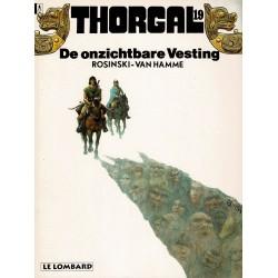 Thorgal - 019 De onzichtbare vesting - eerste druk 1993