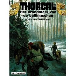 Thorgal - 020 Het brandmerk van de ballingschap - eerste druk 1995