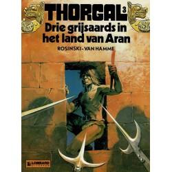 Thorgal - 003 Drie grijsaards in het land van Aran - herdruk